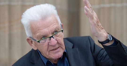Winfried Kretschmann: #AfD trägt Mitschuld an gesellschaftlicher Verrohung