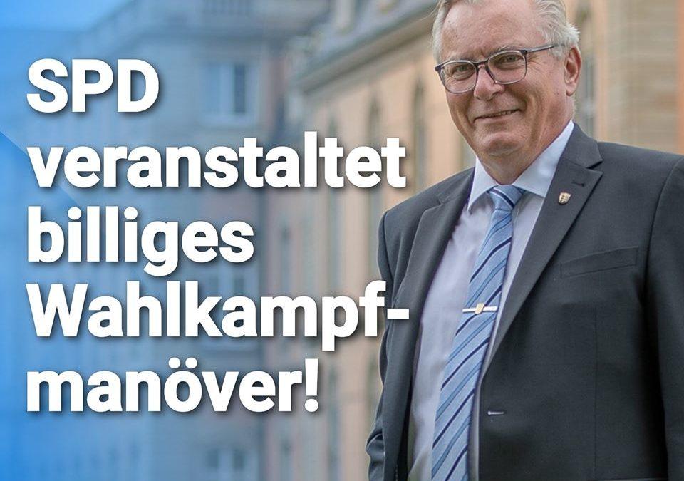 """Bernd Gögel: """"Gewaltexzesse in Stuttgart: SPD veranstaltet billiges Wahlkampfmanöver!"""""""