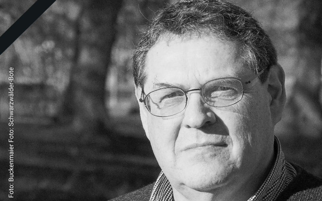 Würdigung Klaus Dürr durch Landtagspräsidentin Aras
