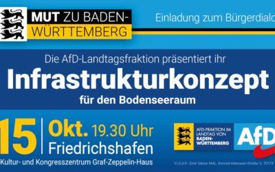 """Bürgerdialog """"Mut zu Baden-Württemberg"""" – Die Infrastrukturwende: """"Das Alternative Verkehrskonzept"""" Ihrer AfD-"""