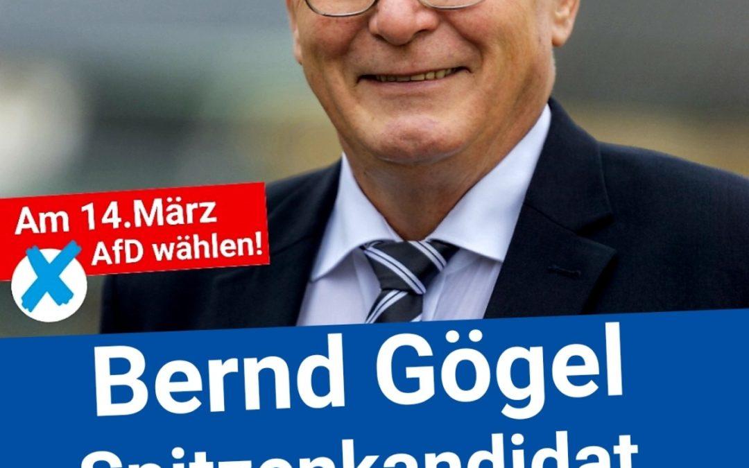 Livestream 25.02. um 10 Uhr ARCHIKON mit dem Spitzenkandidaten Bernd Gögel – AfD