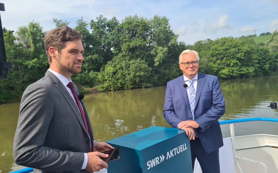 Sommerinterview mit dem Fraktionsvorsitzenden, Bernd Gögel – SWR
