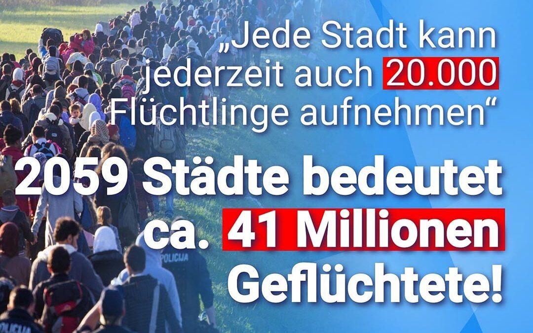"""Rostocker OB Methling: """"Jede Stadt kann jederzeit auch 20.000 Flüchtlinge aufnehmen"""""""