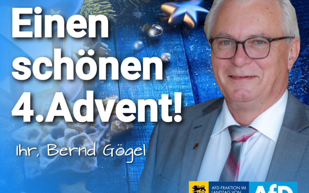 Ich wünsche Ihnen und Ihrer Familie einen besinnlichen 4. Advent!