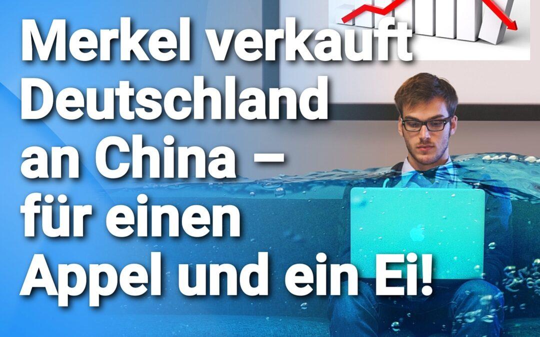 Corona-Insolvenzen  – Merkel verkauft Deutschland an China – für ein Appel und ein Ei