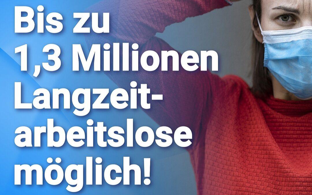 Merkel macht's möglich: Bis zu 1,3 Millionen Langzeitarbeitslose möglich