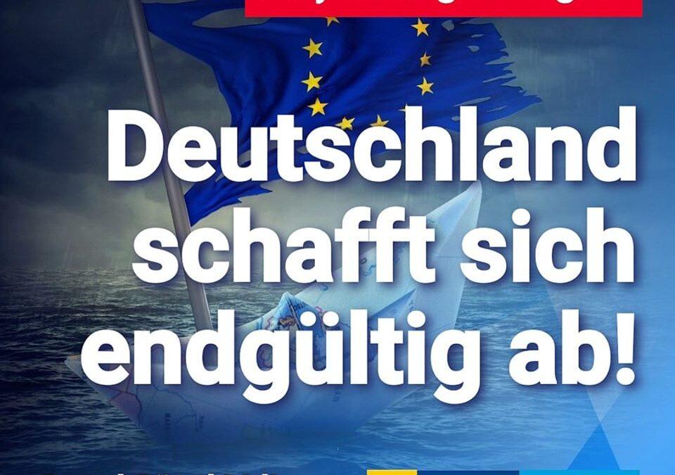 Asylanträge steigen – Deutschland schafft sich endgültig ab