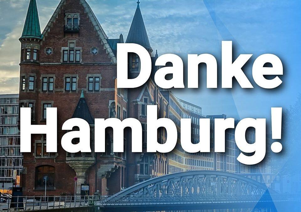 Wiedereinzug der AfD – Danke Hamburg