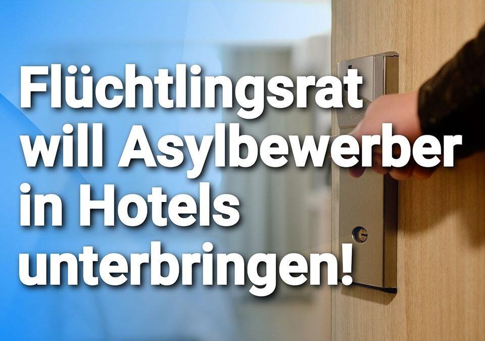 """""""Secret Escapes"""" extrem? Flüchtlingsrat will Asylbewerber in Hotels unterbringen"""