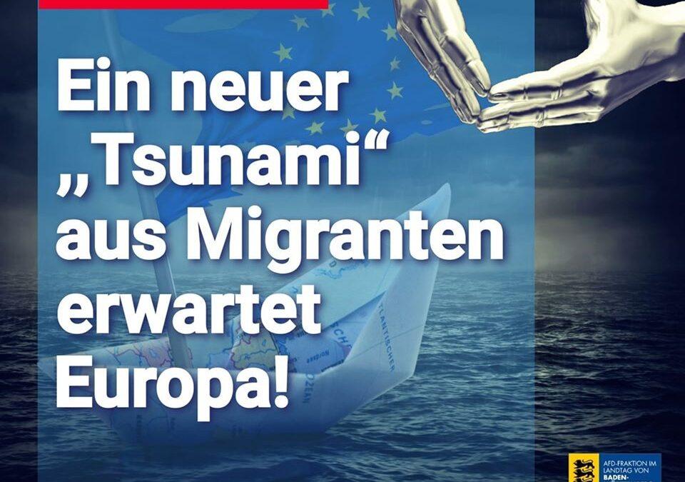 """Griechenland: Ein neuer """"Flüchtlingstsunami"""" rollt auf uns zu"""