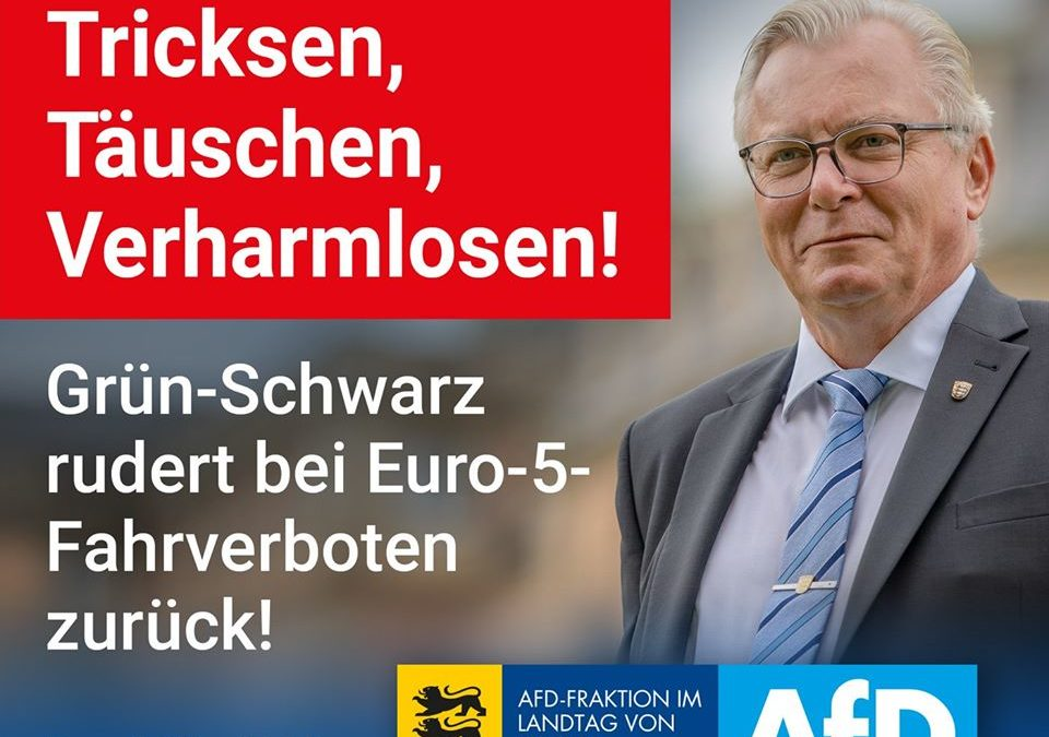 Kretschmann, Strobl und Co.: Tricksen, Täuschen, Verharmlosen!