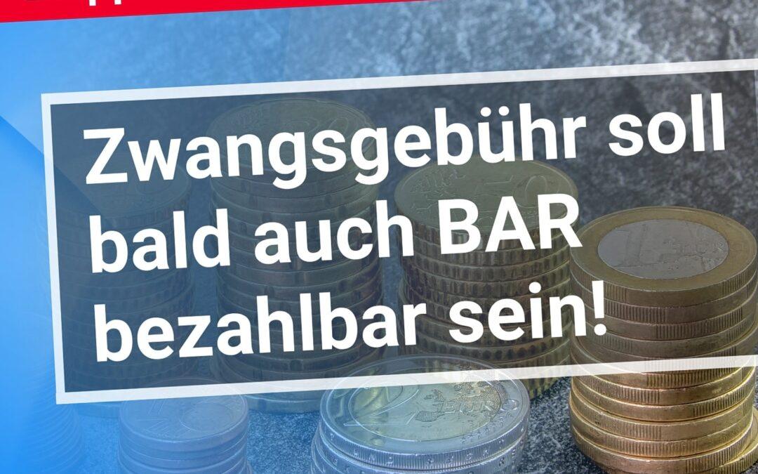 Genial! Etappen-Sieg für GEZ-Rebellen: Zwangsgebühr soll bald auch BAR bezahlbar sein