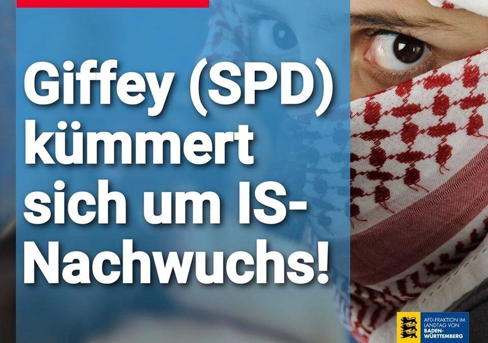 Wie rührend: Giffey (SPD) kümmert sich um IS-Nachwuchs