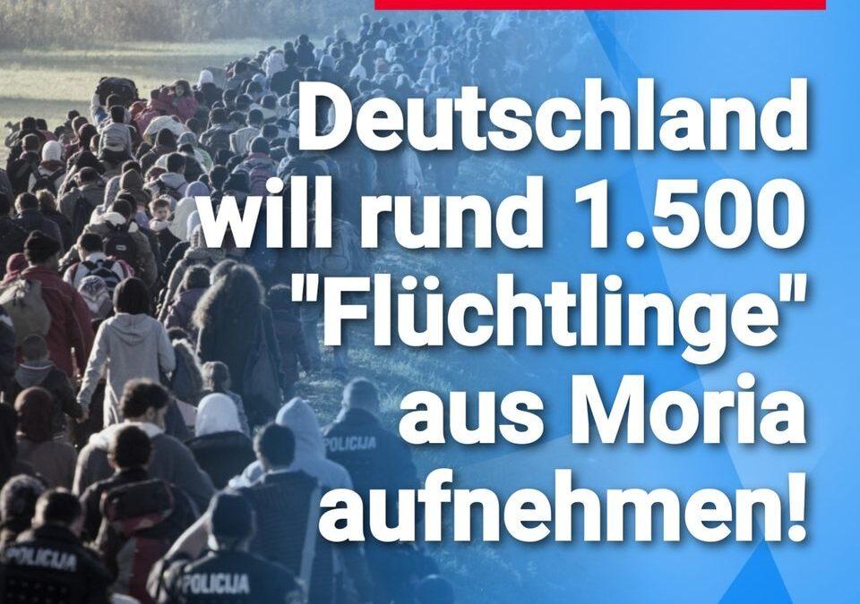 Es geht wieder los: Deutschland will rund 1.500 Flüchtlinge aus Moria aufnehmen