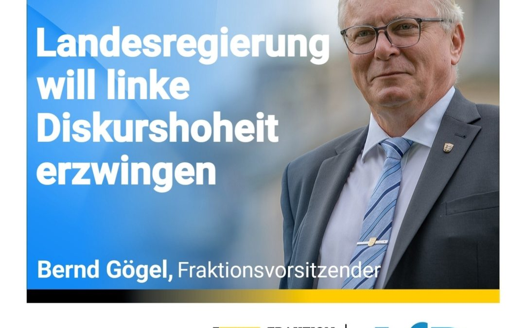 """Kabinettsausschuss gegen Hass und Hetze"" – Landesregierung will linke Diskurshoheit erzwingen"