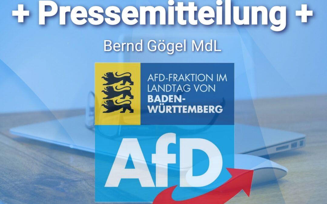 Bernd Gögel MdL: parademokratisches Postengeschacher der Altparteien