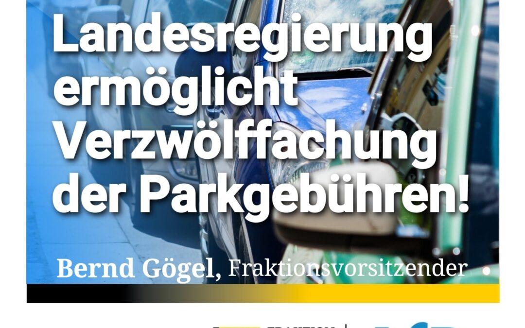 Freiburg, Tübingen & Co. – Landesregierung ermöglicht Verzwölffachung der Parkgebühren