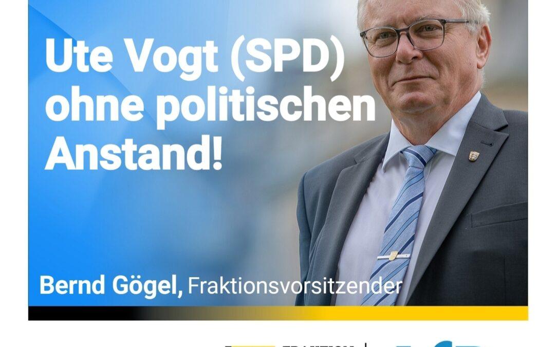 Sie gab der AfD eine Mitschuld an einem Mord – Ute Vogt (SPD) ohne politischen Anstand