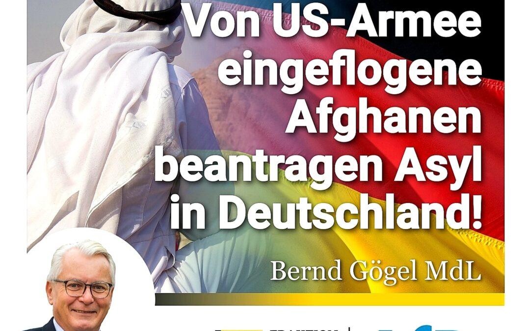 """""""Überraschung"""": Von US-Armee eingeflogene Afghanen beantragen Asyl in Deutschland!"""