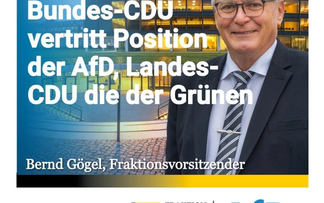 Wahlrecht ab 16 – Bundes-CDU vertritt Position der AfD, Landes-CDU die der Grünen