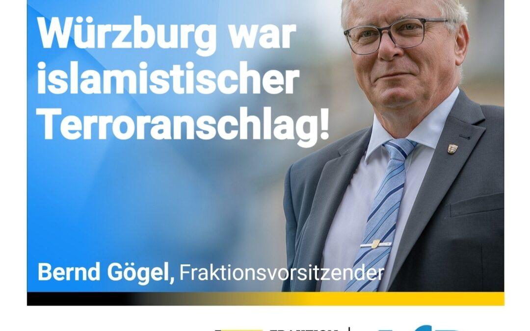 Abschiebungen retten Leben – Würzburg war islamistischer Terroranschlag!