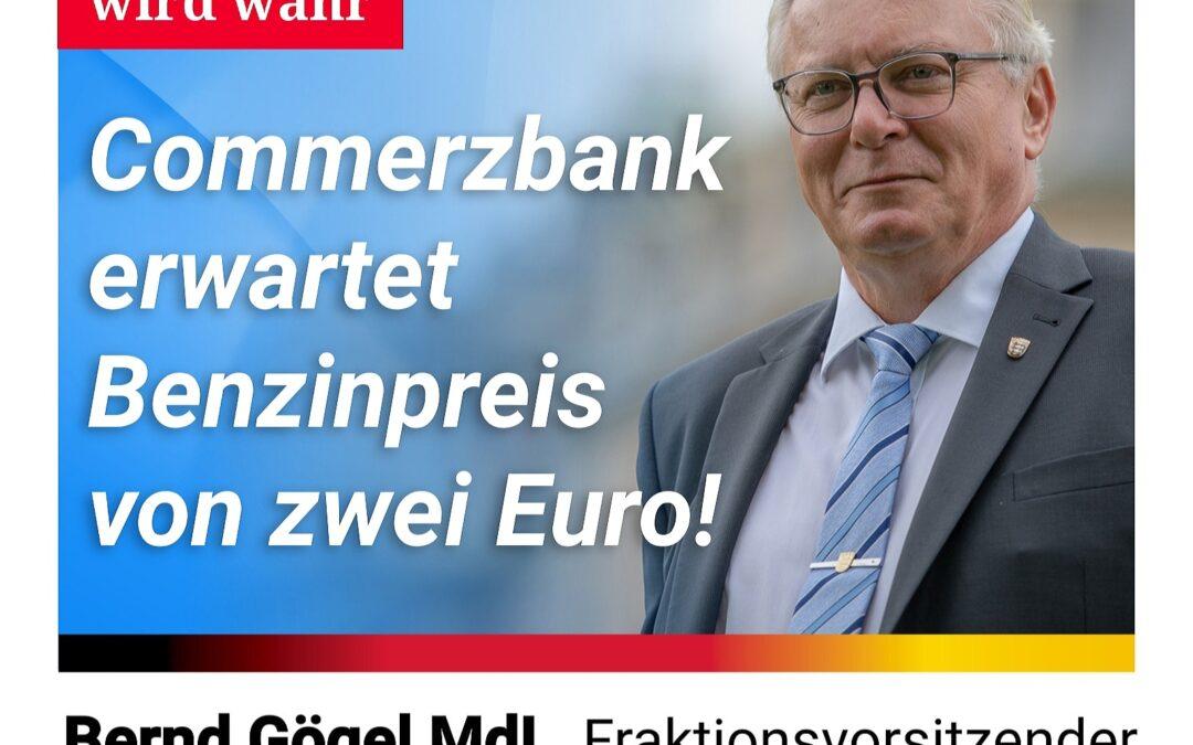 Annalenas Traum wird wahr – Commerzbank-Analyst erwartet Benzinpreis von zwei Euro