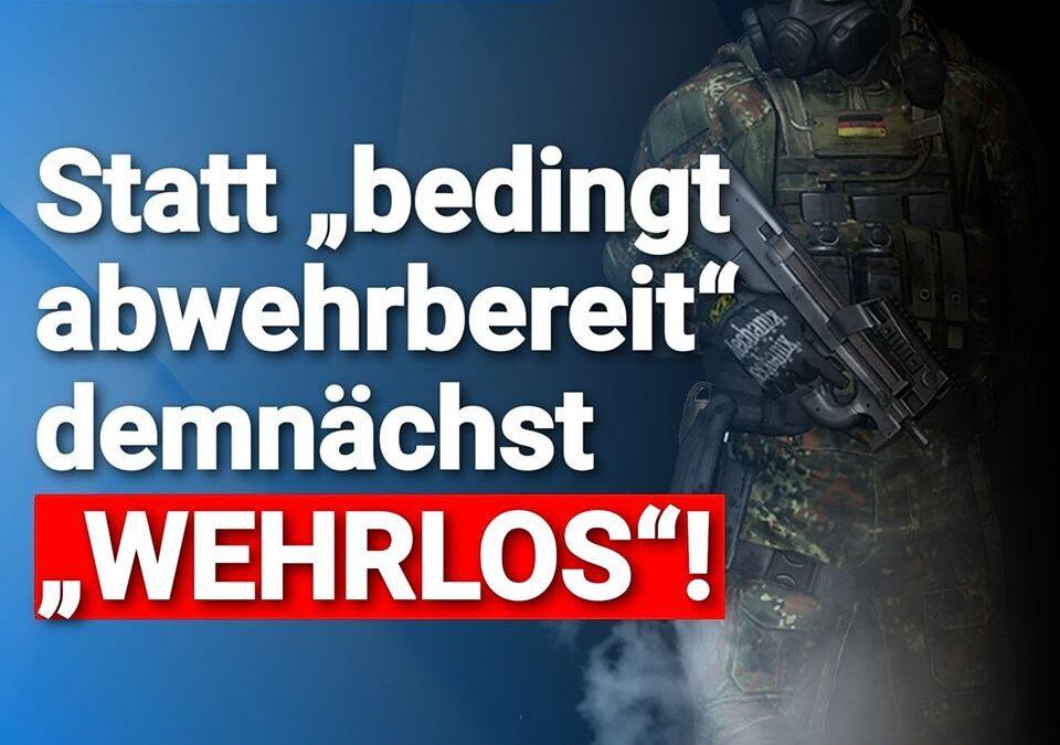 """AKK zerlegt KSK: Statt """"bedingt abwehrbereit"""" demnächst """"WEHRLOS"""""""